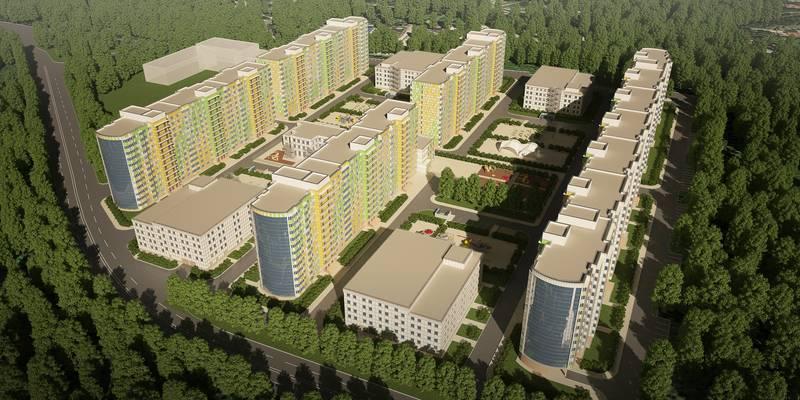 квартиры в ЖК Морошкино
