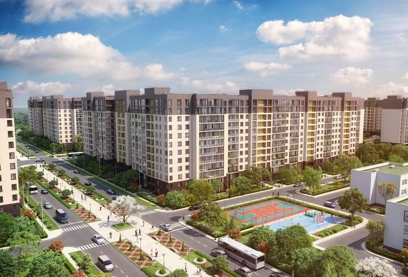 квартиры в ЖК Солнечный город