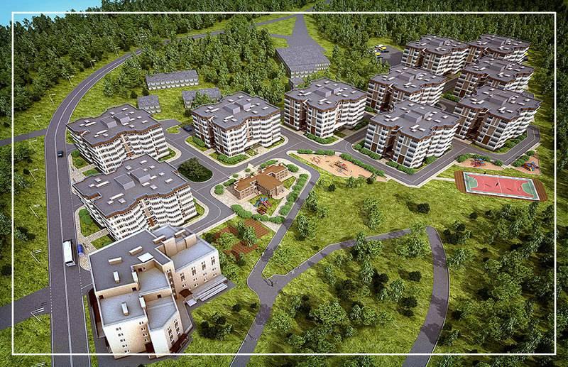 квартиры в ЖК Квартал Европа