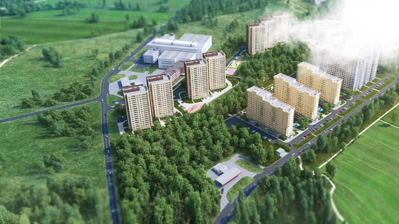 квартиры в ЖК Зеленая линия
