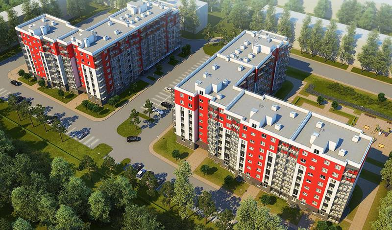 квартиры в ЖК Брусничный
