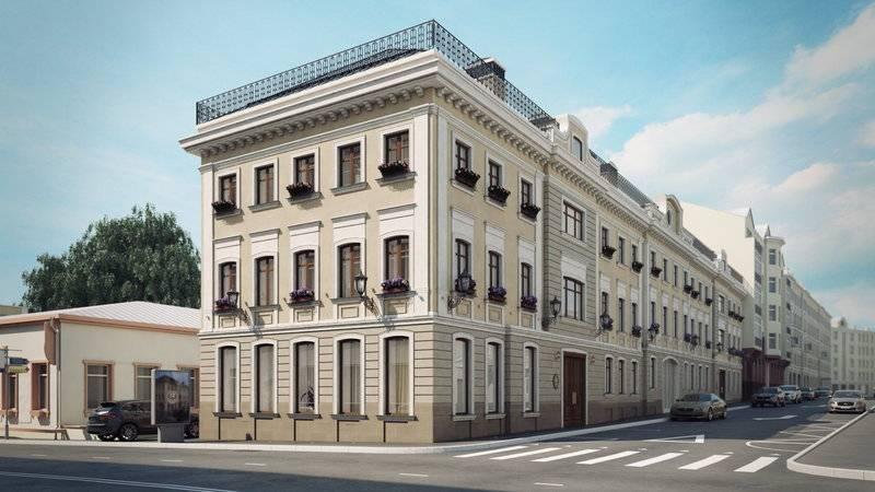 квартиры в ЖК Palazzo Остоженка 12