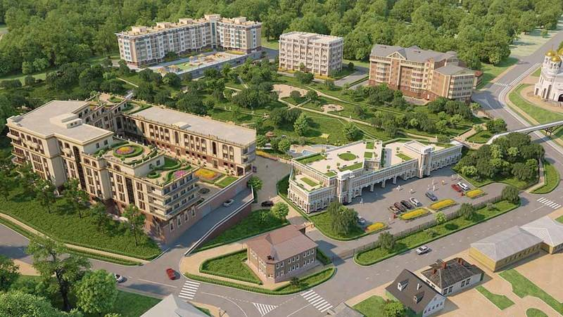 квартиры в ЖК Малиновый ручей-2