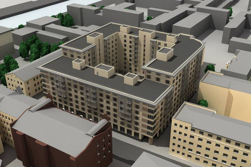 квартиры в ЖК Дом на Егорова 25
