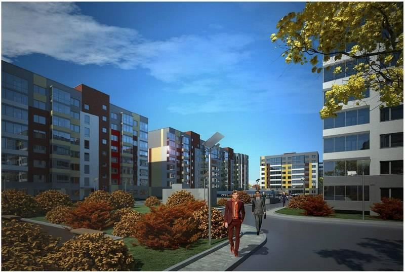 квартиры в ЖК Рябиновый сад