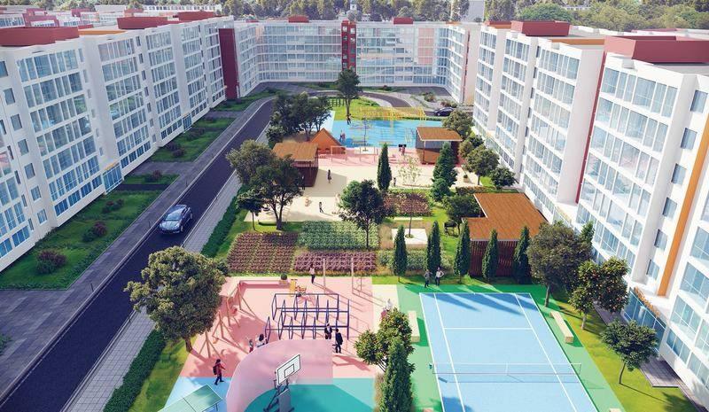 квартиры в ЖК Томилино