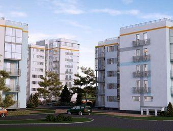 квартиры в ЖК 84 высота