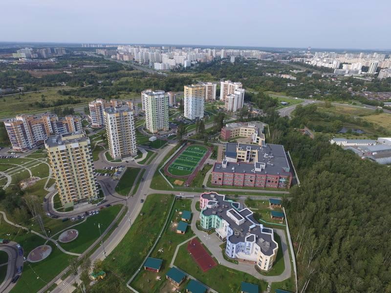 квартиры в ЖК Зеленый бор