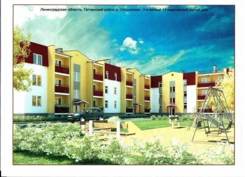 квартиры в ЖК Дом в д. Сяськелево