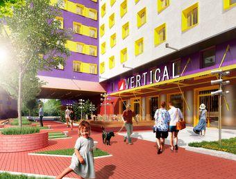 квартиры в ЖК Апарт-отель VERTICAL на Таганской